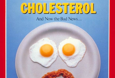 Time Magazine cover on cholesterol
