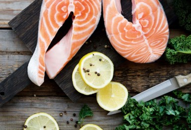 Wild Salmon with Buttered Kale_header