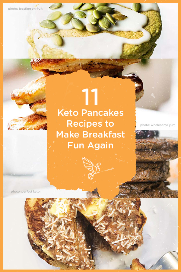Want to stick to your keto diet, without giving up the pancakes? These 11 keto pancakes recipes are diet friendly and delicious— without the extra carbs.