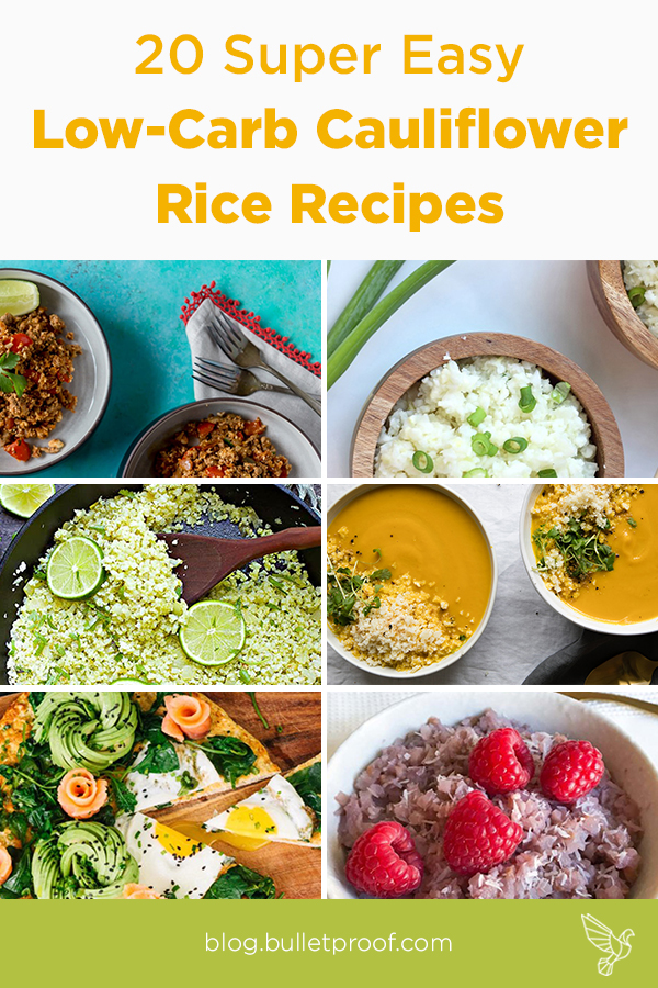 These cauliflower rice recipes prove that cauliflower can do it all: Sweet to savory, breakfast to dinner, and everything in between.