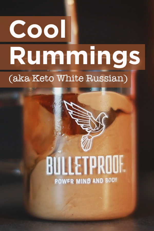 This keto White Russian is an upgraded spin on a cocktail classic -- all without inflammatory sugar and cream. Just 2 ingredients, and less than 1 net carb.