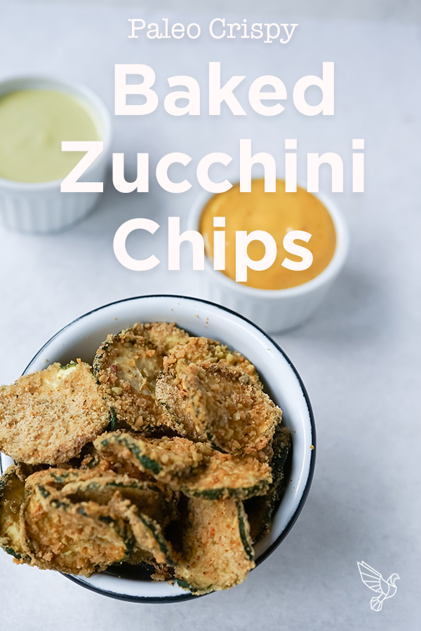 This baked zucchini chips recipe takes minutes to prep and delivers a savory, satisfying crunch -- all with clean, paleo-friendly ingredients.