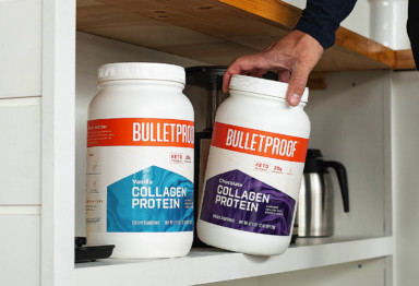 Two flavors of Bulletproof Collagen Protein